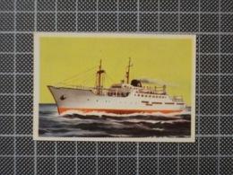 Cx10 -3805) Cromo Portugal P/ Caderneta NAVIOS E NAVEGADORES #46 GUADALUPE Ship Bateau - Trade Cards