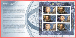 "Moldova 2009 ""Europa-CEPT 2009"" ""Astronomy"" Non Perforated Booklet. Quality:100% - Europa-CEPT"