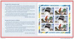"""Moldova 2010 """"Europa-CEPT 2010"""" """"Children's Books"""" Booklet Quality:100% - 2010"""