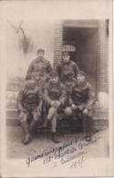 CARTE-PHOTO 518è RCC Groupe De Tankistes Militaires, Chars De Combats Tanks à Besançon Le 4 Octobre 1927 - Regimenten
