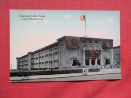 Municipal Public Baths Coney Island  New York   Ref 3676 - Manhattan