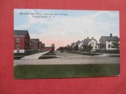 Barracks & Officers Quarters Fort Wright  Fishers Island   New York > Long Island   Ref 3676 - Long Island