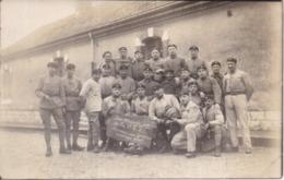 CARTE-PHOTO 506è RCC Tankistes - Les Privés D'Amour De La 4è S - Mai 1926 - Regimenten
