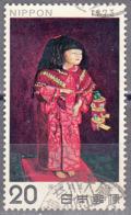 JAPAN    SCOTT NO. 1138     USED      YEAR  1973 - Usados