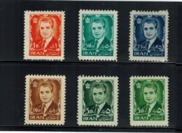 Iran/Persia   6 Stamps MNH  L#652 - Iran