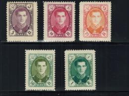 Iran/Persia   5 Stamps MNH  L#655 - Iran