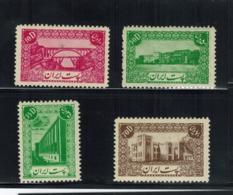 Iran/Persia   4 Stamps MNH  L#663 - Iran