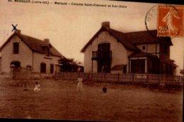 44-MESQUER...MARQUET...COLONIE ST-CLEMENT ET KER-ANNE  ..CPA ANIMEE - Mesquer Quimiac