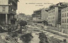 ANNONAY (Ardèche) Quai Bertrand Et La Deume RV - Annonay