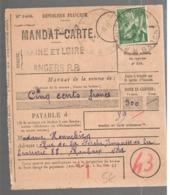 23642 - JOUL SUR ERDRE - Marcofilia (sobres)