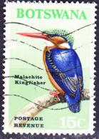 Botswana - Zwerg- Hauben- Fischer (Corythornis Cristata) (MiNr 26) 1967 - Gest Used Obl - Botswana (1966-...)