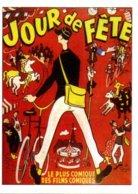 Réf. 452/ 1 CPM - Carte Postale Cinéma - Jour De Fête Jacques Tati - Affiches Sur Carte