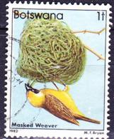 Botswana - Maskenweber (Ploceus Velatus) (MiNr 299) 1982 - Gest Used Obl - Botswana (1966-...)