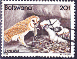 Botswana - Schleiereule (Tyto Alba) (MiNr 309) 1982 - Gest Used Obl - Botswana (1966-...)