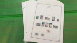 Lot N° TH. 1063  ALGERIE Collection Neufs X Sur Page D'albums Quelques Neufs Xx ( Colles Sur Bord De Feulle ) - Collections (en Albums)