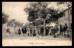 ALGERIE, Djelfa, Rue Boisguilbert - Djelfa