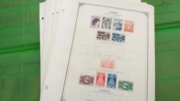 Lot N° TH. 1065  TUNISIE Collection Neufs X Sur Page D'albums Quelques Neufs Xx ( Collés Sur Bord De Feulle ) - Sammlungen (im Alben)
