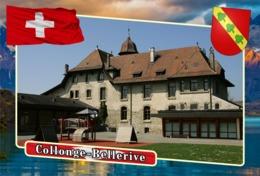 Postcard, REPRODUCTION, Municipalities Of Switzerland, Collonge-Bellerive - Landkaarten