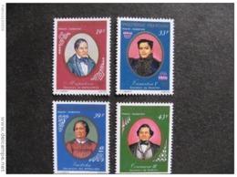 Polynésie:  TB Série PA N° 117 Au  N° 120, Neufs XX. - Poste Aérienne
