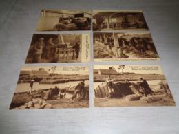 Beau Lot De 10 Cartes Postales De La Culture Du Lin        Mooi Lot Van 10 Postkaarten Over Vlas - Cartes Postales