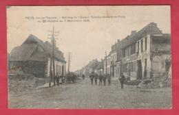 Pecq - Rue De Tournai - Bataille De L'Escaut - Bombardement Du 20 Octobre Au 7 Novembre 1918 - 1928 ( Voir Verso ) - Pecq