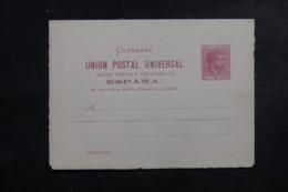 CUBA - Entier Postal + Réponse Non Circulé - L 44429 - Cuba (1874-1898)