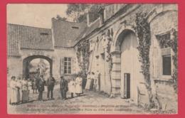Pecq - Ancien Château Seigneurial -Propriété De Fréderic, Prince De Solm ...belle Animation -1910 ( Voir Verso ) - Pecq