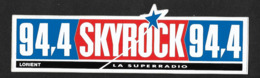 Radio Skyrock Lorient - Sticker Adhésif Autocollant - Autocollants
