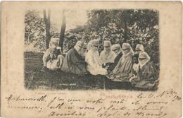 TURQUIE - CONSTANTINOPLE - FEMMES TURQUE  ASSISES -  PRECURSEUR - Turquie