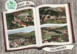 82 - Très Belle Carte Postale Semi Moderne Dentelée De   COLLOBRIERES   Multi Vues - Collobrieres