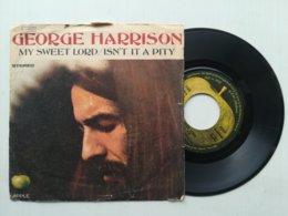 "7"" - GEORGE HARRISON - MY SWEET LORD - APPLE - Rock"