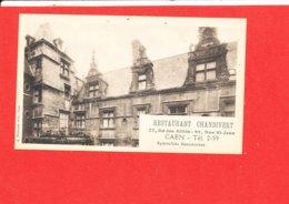 14 CAEN Cpa Restaurant CHANDIVERT Bd Des Alliés Rue St Jean - Caen