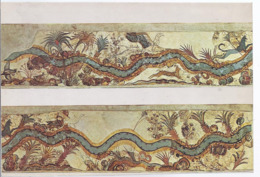 AK-71986   Athen  -  National Museum - Thera Fresco - Tropische Landschaft - River Palm Trees - Grecia