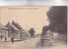 CPA - 80 - SAILLY-SAILLISEL (Somme) - Faubourg De Péronne Vers 1910 édition Lelong à Sailly - France