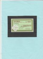 Italia Repubblica - Miniassegno L. 100   L'ICCREA, 14/1/1977 - [10] Assegni E Miniassegni