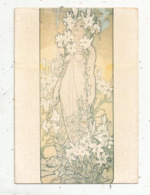 Cp, Illustrateur , Signée MUCHA ,n° M 5 ,vierge , Ed. F. Nugeron - Mucha, Alphonse