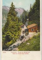 CHAMONIX  Route Du Montanvert, Halte Au Chalet Des Caillets - Chamonix-Mont-Blanc