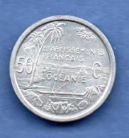 Océanie -  50 Centimes 1949   -  état  SPL - Colonies