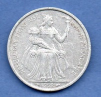 Océanie -  5 Francs 1952  -  état  TTB - Colonies