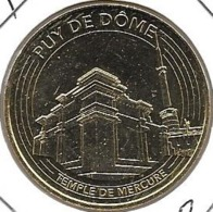 Jeton Touristique 63 Puy De Dome 2017 Temple! - 2017