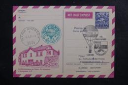 AUTRICHE - Entier Postal Par Ballon En 1971, Cachet Et Affranchissement Plaisant - L 44480 - Ballonpost