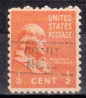 USA Precancel Vorausentwertung Preo, Locals Michigan, Brant 729 - Vorausentwertungen