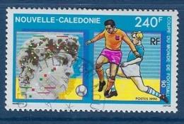 """Nle-Caledonie YT 596 """" FOOTBALL """" 1990 Oblitéré - Usati"""