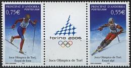 Andorre, N° 622 à N° 623** Y Et T - Andorre Français