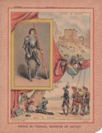 """Ce Ci N Est Pas Un Protège Cahier Mais Une Couverture De Cahier D'écolier (18x22) 2 Pages  """"Seigneur De Bayart"""" - Book Covers"""