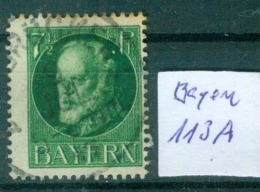 Bayern  MiNr. 113 A      O / Used  (L981) - Bavaria