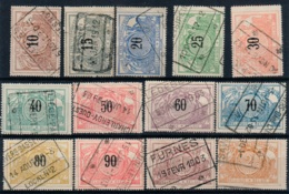 BELG.  TR15/TR27  USED - 1895-1913