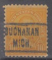USA Precancel Vorausentwertung Preo, Locals Michigan, Buchanan 562-466, Stamp Thin - Vorausentwertungen