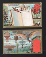 Cambrai (59 Nord) Lot N°2 De Chromos CHICOREE CASIEZ ET BOURGEOIS: VOYAGES EXTRAORDINAIRES (PPP20778) - Cromo