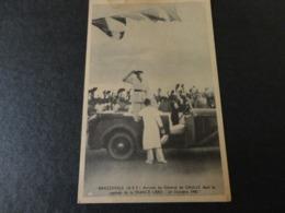 CARTE POSTALE AEF FRANCE LIBRE 24 10 1940 DE GAULLE - A.E.F. (1936-1958)